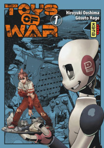 Toys of War - couverture