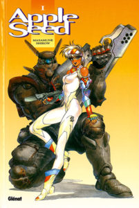 Appleseed (manga) - couverture