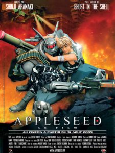 Appleseed (film) - Jaquette